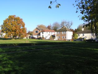 East Common, Redbourn in November 2012 - the house behind the red car occupies the site of the PM chapel | David Noble
